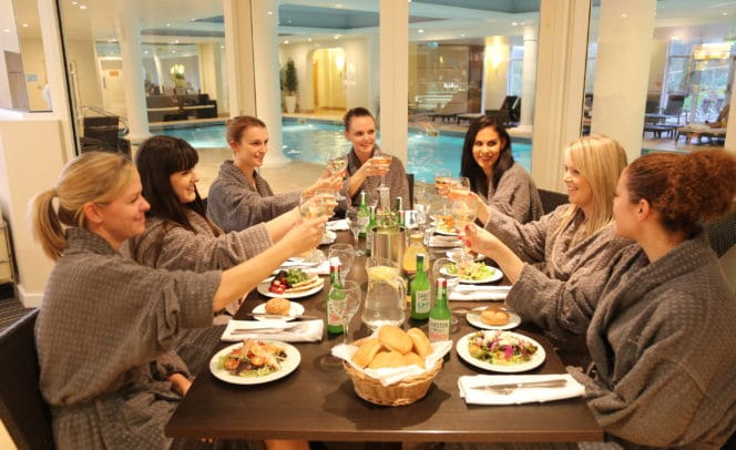 Hen Party Spa Lunch