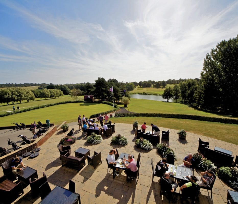 Golf Terrace at Stoke by Nayland, Essex