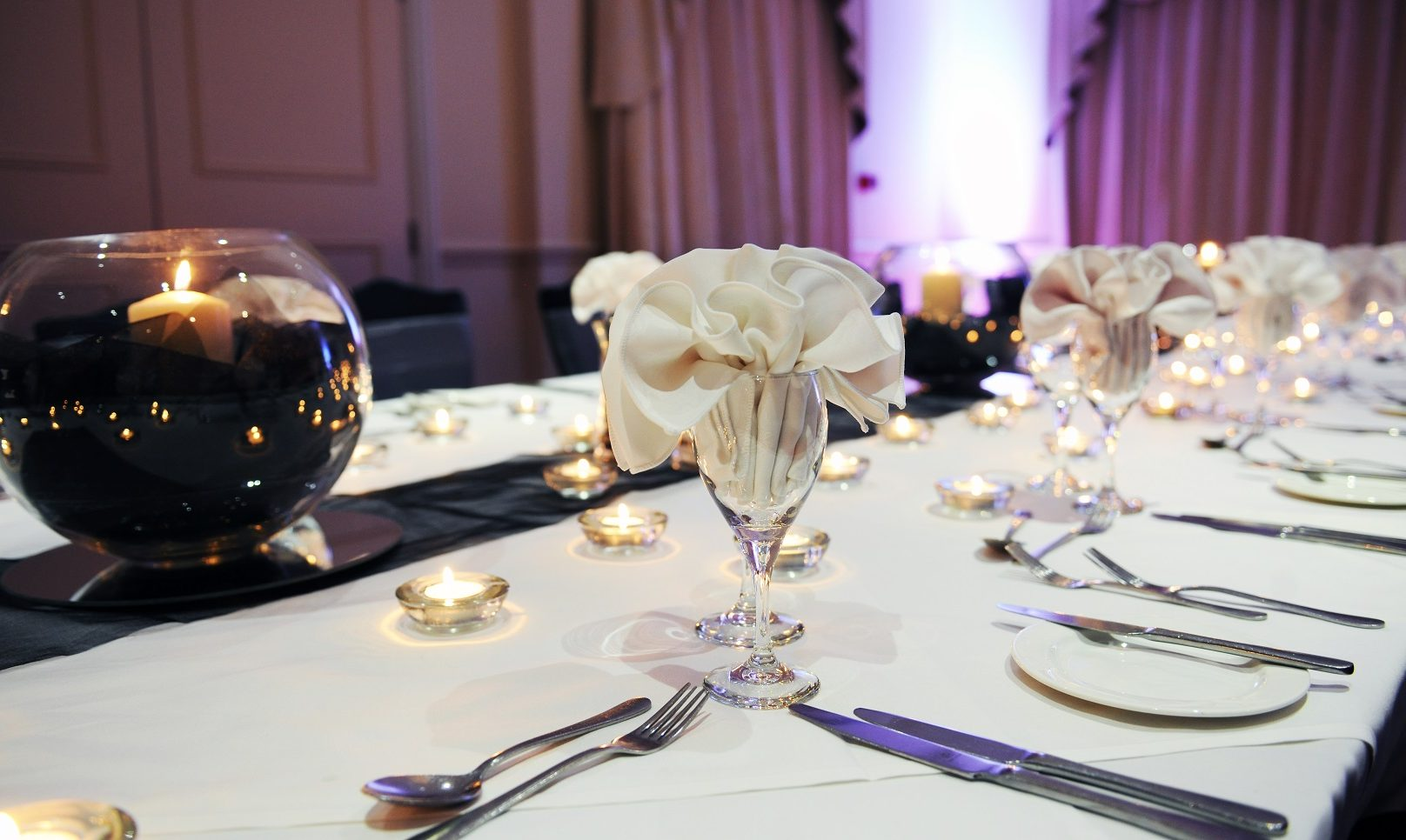 Private Party Function Table setting
