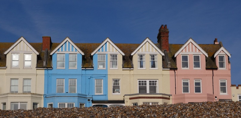 Aldeburgh colourful houses