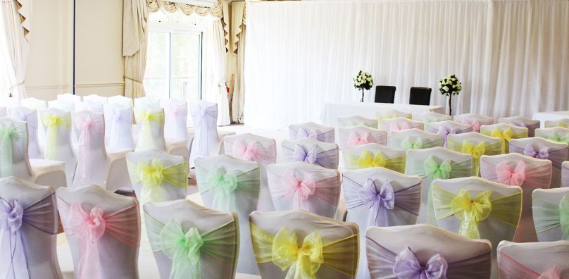 Pastel Wedding Chairs - Stoke by Nayland