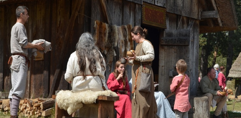 Twistory weekend at the West Stow Anglo-Saxon Village