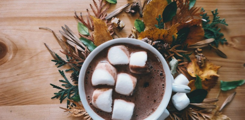 Autumn hot chocolate