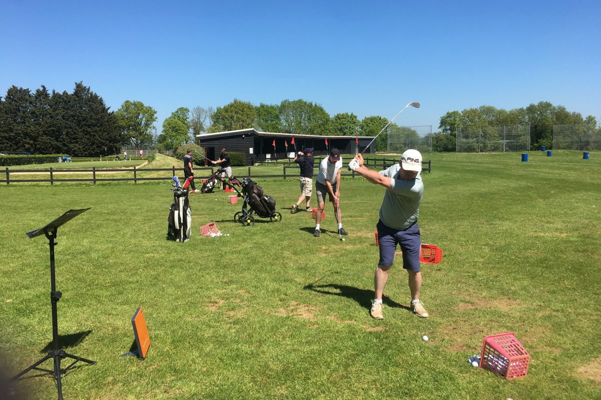 Golf - ball putting