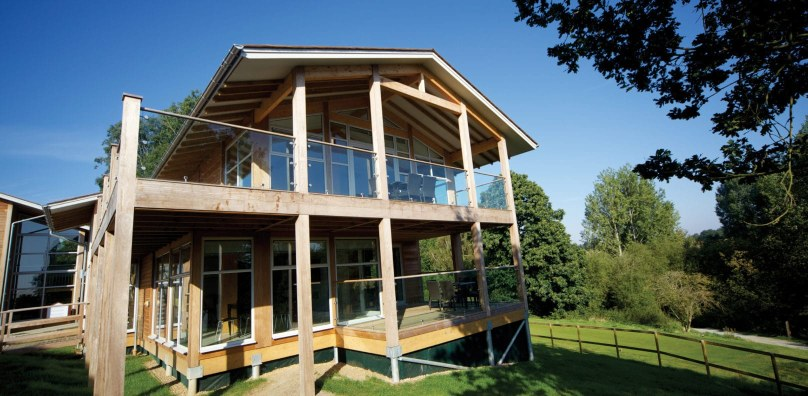 Luxury lodges at Stoke by Nayland