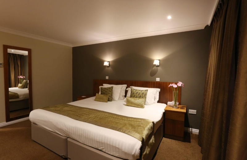 Bedrooms at Stoke by Nayland